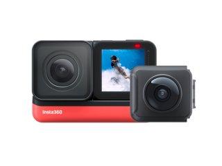 Insta360 ONE R ツイン版 3in1 充電ケーブル付き アクションカメラ 360度+4K広角モジュール