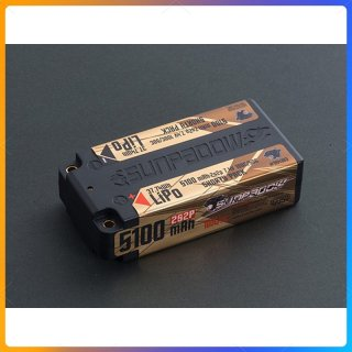 SUNPADOW 7.4V / 5100mAh / 100C リポバッテリー  ショート