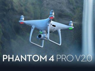 DJI PHANTOM 4 PRO Plus v2.0 プロ級4Kカメラ付き 高性能ドローン【賠償責任保険付】GPS 技適マーク TSモバイル プレゼント有りファントム モニター付き