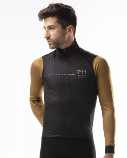 VEST FIRST - BLACK DOT  € 140.00<img class='new_mark_img2' src='https://img.shop-pro.jp/img/new/icons1.gif' style='border:none;display:inline;margin:0px;padding:0px;width:auto;' />