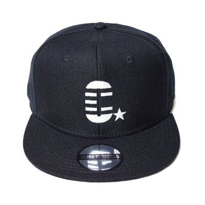 snap back cap (C☆) <br>black