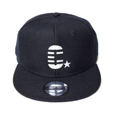 snap back cap (C☆) <br>black