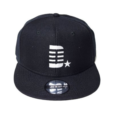 snap back cap (D☆) <br>black