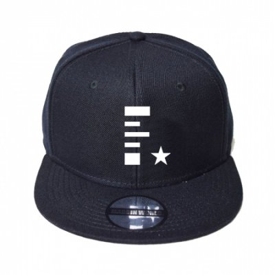 snap back cap (F☆) <br>black