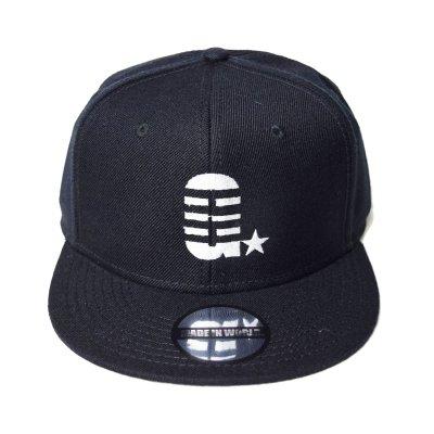 snap back cap (G☆) <br>black
