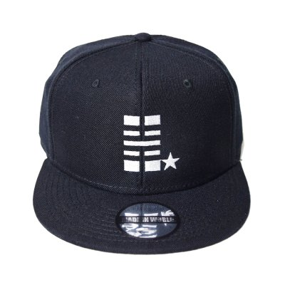 snap back cap (H☆) <br>black