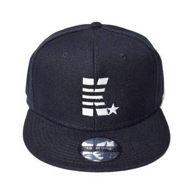 snap back cap (K☆) <br>black
