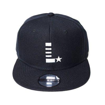 snap back cap (L☆) <br>black