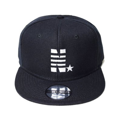 snap back cap (N☆) <br>black