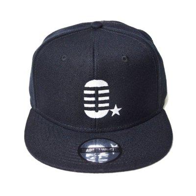 snap back cap (O☆) <br>black