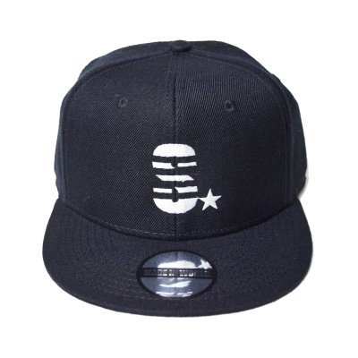 snap back cap (S☆) <br>black