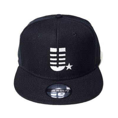 snap back cap (U☆) <br>black