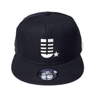 snap back cap (U☆) <br>black