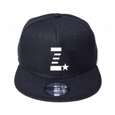 snap back cap (Z☆) <br>black