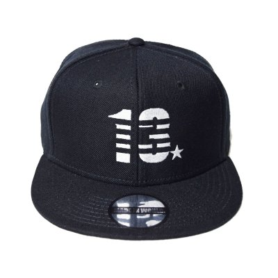 snap back cap (13☆) <br>black
