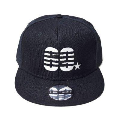 snap back cap (69☆) <br>black