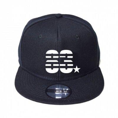 snap back cap (83☆) <br>black