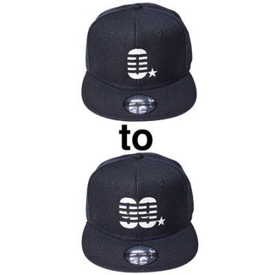 【入荷待ち予約】 snap back cap (0☆〜99☆) black