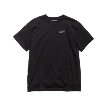 crew neck tee <br />(one point) black