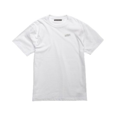 crew neck tee <br />(one point) white