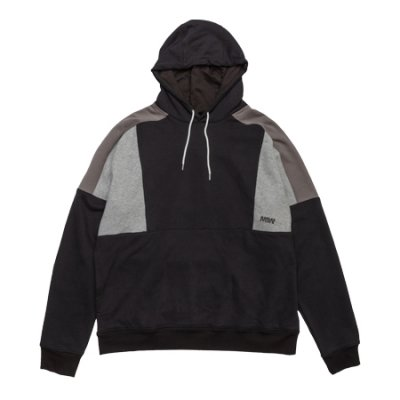 pull over hoodie sweat<br /> (switching) black