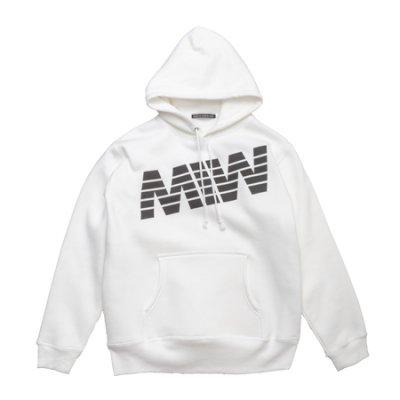 pull over hoodie<br />sweat (MIW) white