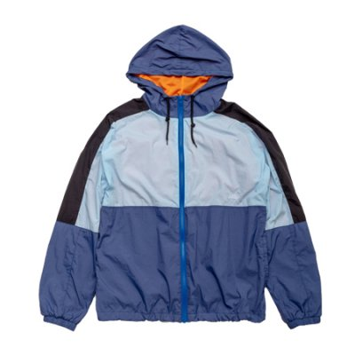nylon jacket blue