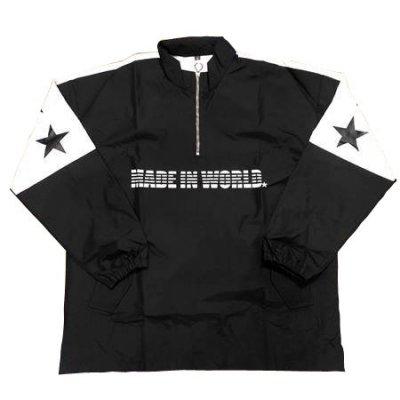 pull over jacket black