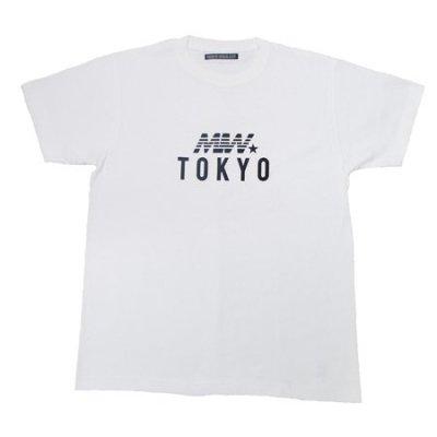 crew neck tee <br />(MIW tokyo) white
