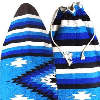 サイズ[6.2 x 22.5] ハンドメイド ボードバック メキシコの伝統的織物 世界で一つのデザイン(北海道・九州・沖縄への配送は表示価格+600円となります)
