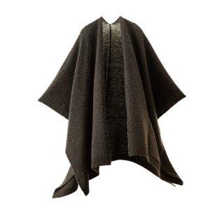 tate-L 羽織るポンチョ / ほっとする手ざわり ポケット付き