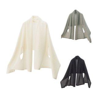 nico ストールポンチョ / 贅沢なカシミヤ100% 雪国新潟の冬の到来をテーマに