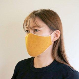 かおをつつむ / のびるニットマスク やわらか綿麻 リバーシブル