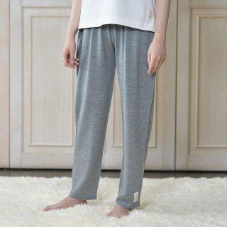 おなかをつつむ / のびるニットパンツ レギュラータイプ 洗濯機で洗えるウール ポケット付き