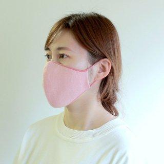 かおをつつむ / のびるニットマスク なめらか綿混 リバーシブル