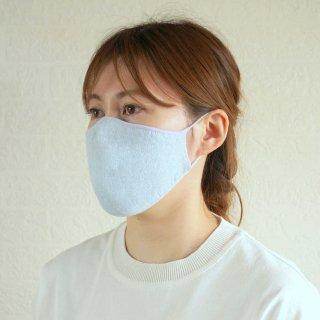 かおをつつむ / のびるニットマスク 涼しい夏の麻 リバーシブル