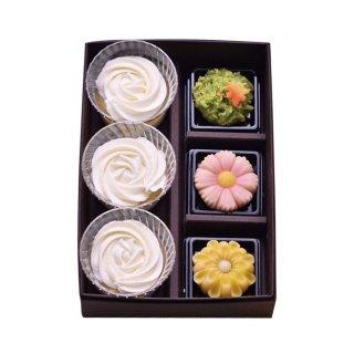 糀朝生ギフトC(糀の上生菓子3個 糀と蜂蜜3個)