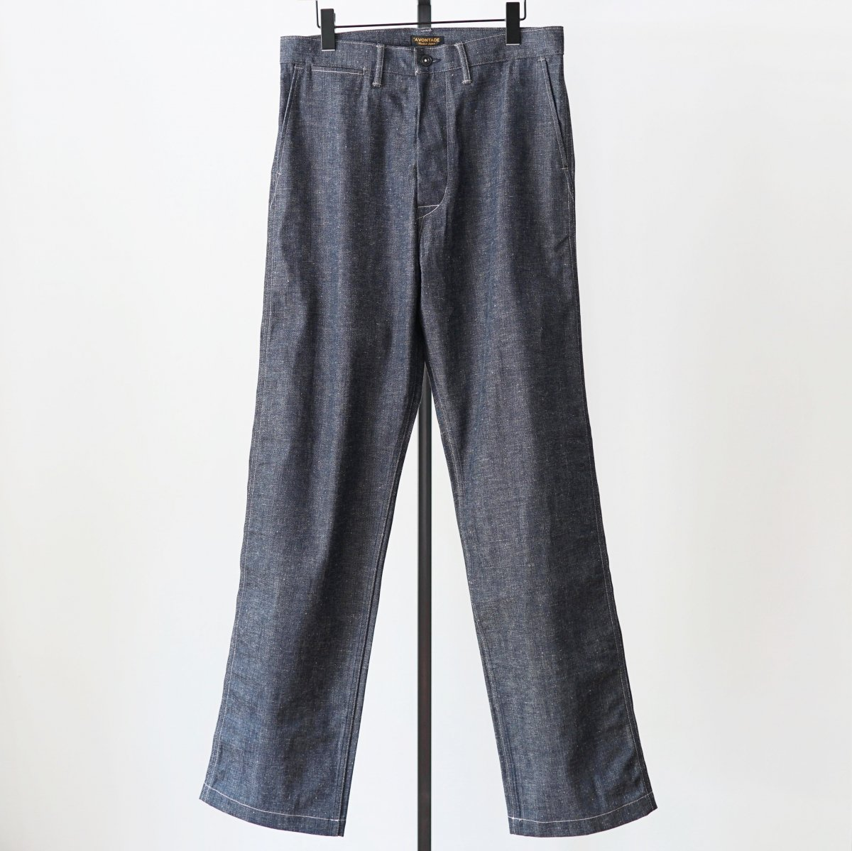 【AVONTADE アボンタージ】PW DENIM TROUSERS - INDIGO