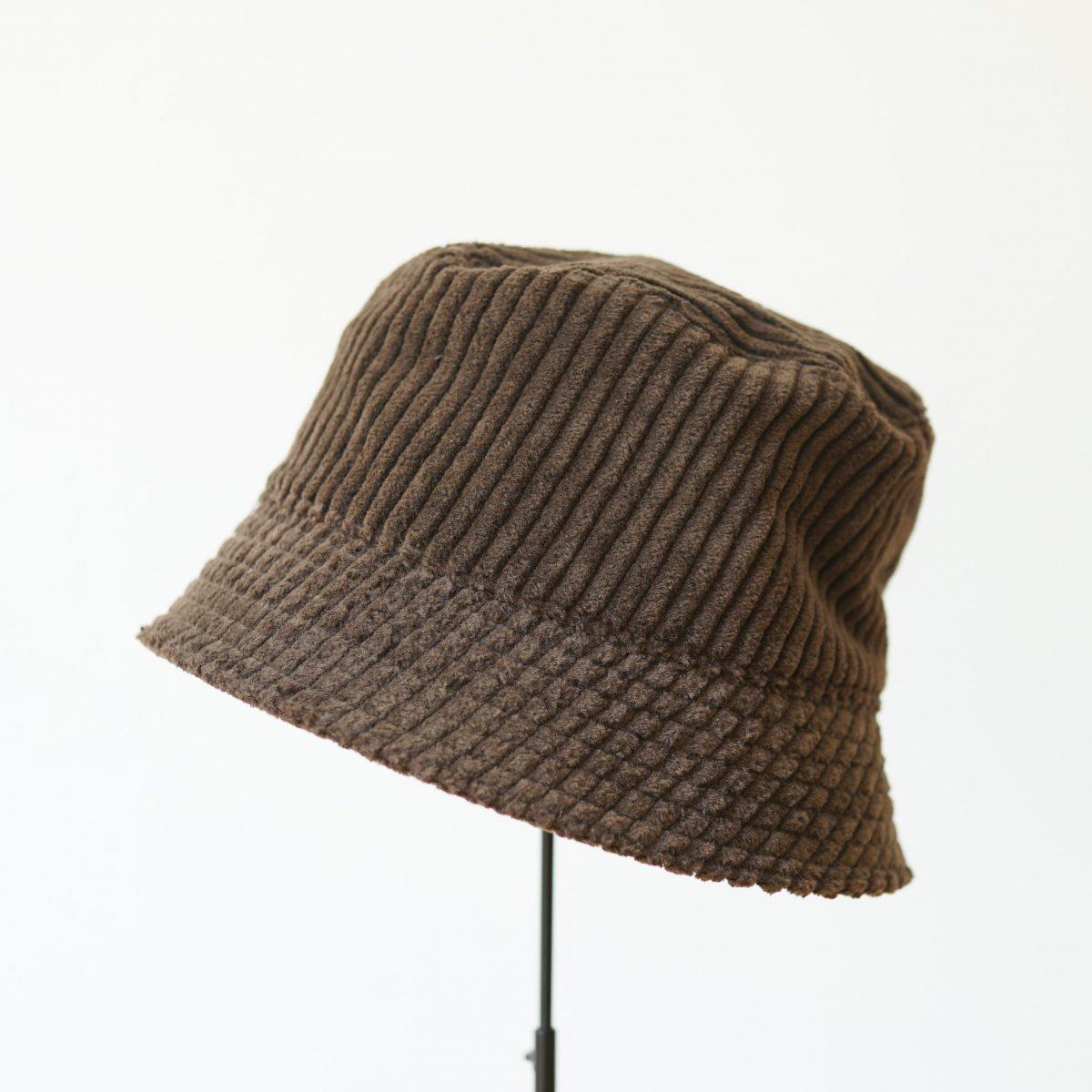 【WHOWHAT フーワット】BUCKET HAT - DARK BROWN