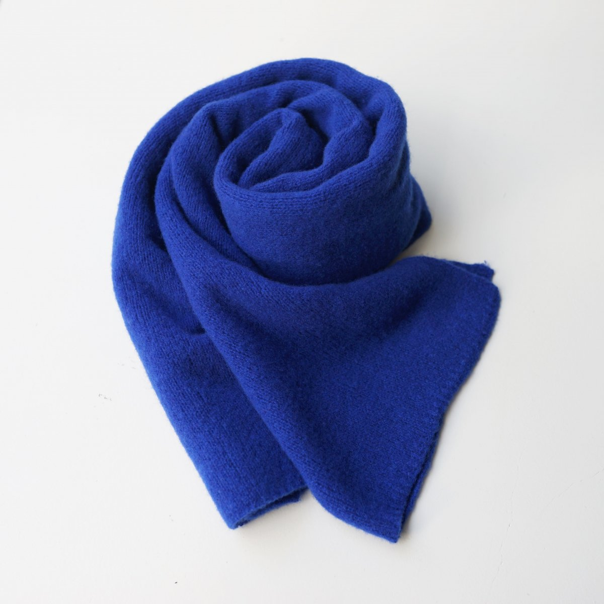 【UNDECORATED アンデコレイテッド】PURE CASHMERE STALL - BLUE