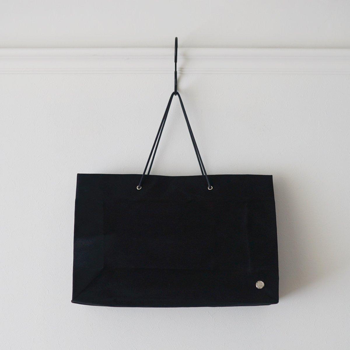 【WHOWHAT フーワット】PAPER BAG MODEL M - BLACK