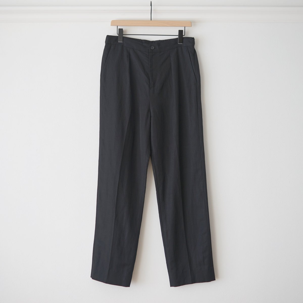 【UNDECORATED アンデコレイテッド】VI/RA TWILL PANTS - BLACK