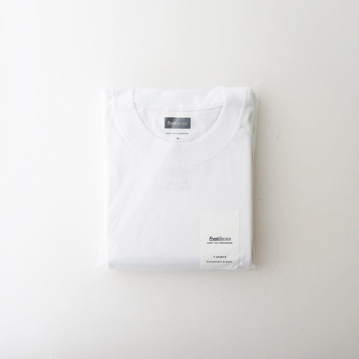 【FreshService フレッシュサービス】 ORIGINAL 2-PACK TEE - WHITE