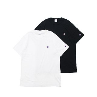 CHAMPION チャンピオン BASIC S/S TEE (KING SIZE) C3-P300L/BLACK,WHITE