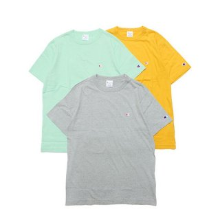CHAMPION チャンピオン BASIC S/S TEE C3-P300/YELLOW,MINT, OXFORD GREY