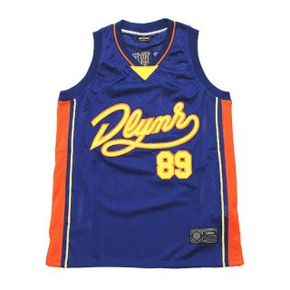 DOLLY NOIRE ドリーノアール BASKET TANKTOP TS351/BLUE/ORANGE