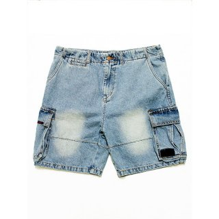 GRIMEY グライミー YANGA CARGO DENIM SHORTS GJS102/LIGHT BLUE