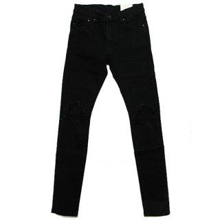 mnml ミニマル X1 STRETCH DENIM PANTS M2019-D582/BLACK