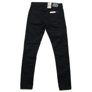 NUDIE JEANS ヌーディージーンズ TIGHT TERRY DENIM PANTS/DEEP BLACK