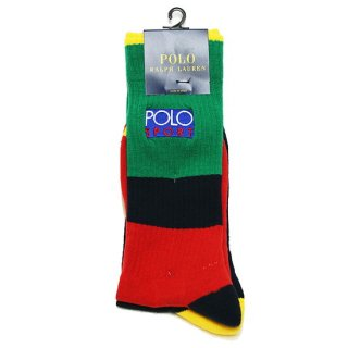 POLO RALPHLAUREN ポロ ラルフローレン POLO SPORT MULTI SOCKS/MULTI